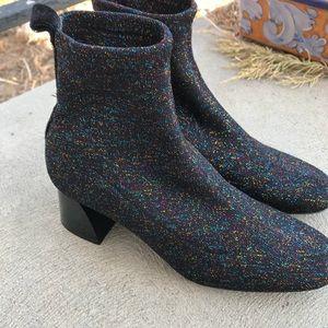 Zara trafaluc glitter boots